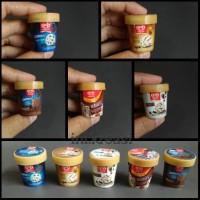 magnet kulkas miniature ice cream Walls