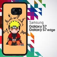 Naruto Chibi Uzumaki Hakke no Fuin Shiki 0175 Casing for Galaxy S7 Har