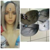 Rambut Palsu / Wig lace Pendek model bob