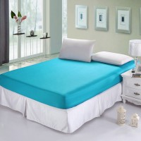 Sprei Waterproof (Anti Air/Ompol) Biru Muda 100x200x20