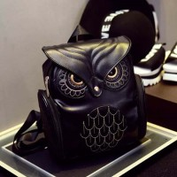 Jual Tas Gendong / Backpack Import Wanita Cute Owl Murah
