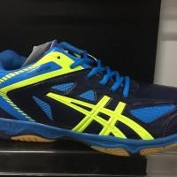 Sepatu badminton professional Alligator biru stabilo original new2017