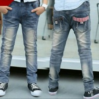 Celana Anak Import / Jeans Anak Import / Celana Saku Salur