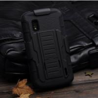 LG Nexus 4 Future Bumper Armor Hybrid Hard Soft Case Cover Casing
