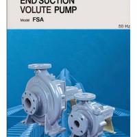 Pompa Ebara Centrifugal End Suction Model Mechanical Seal