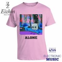 Kaos Marshmello Alone Pink Eizhin Edm Music Edition