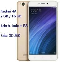Xiaomi Redmi 4A GOLD 2/16 RAM 2GB ROM 16GB DUAL SIM HP ANDROID MURAH