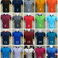 Kaos polo shirt polos,kombinasi,promosi,seragam//desain sesukamu MURAH