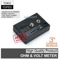 Digital Ohm + Volt Meter | coil tester | rda rdta rba mod vape vapor