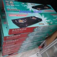 Jual Kompor Gas Kaca Sanken SG 369dx2 khusus Gojek Murah