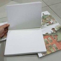 Sketchbook Buku Gambar Tebal 1.5 cm B5 Picturistic Landscape