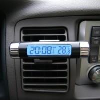 Jam Digital & Temperatur Mobil Jam Dashbor Mobil