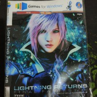 DVD Final Fantasy 13 Lightning Returns for PC (4 dvd)