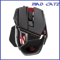 Mad Catz RAT. 3 (Gloosy Black) - Gaming Mouse