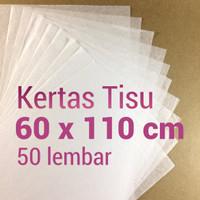 kertas tisu   60x110   100 lembar   tissue   paper   bungkus  