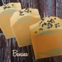 BANANA NATURAL HANDMADE SOAP - SABUN PISANG ALAMI
