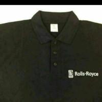Polo shirt/Tshirt/Kaos Kerah ROLLS ROYCE Keren Terlaris