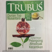 Trubus 520 - Mar 2013 Herbal Anyar Pelangsing Afrodisiak Kecantikan
