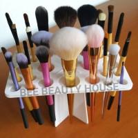 Tempat kuas make up organizer chanel makeup set Hanger HOLDER TREE