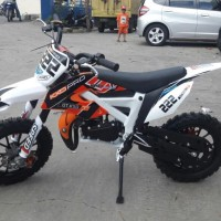 Motor Trail Medium 4 KXD OffRoad Mesin 2 Tak Original