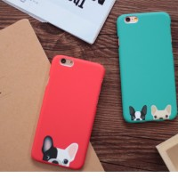iPhone 6/6s - Casing Case Cute Pug Dog Anjing Tumblr Matte Hard Case