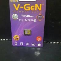MEMORY CARD / MMC VGEN 8 GB ( CLASS 6 )