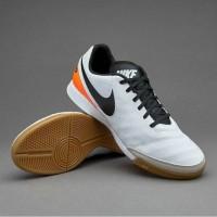 Nike Tiempo X Genio II Leather White Black IC