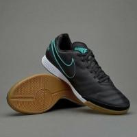 Nike Tiempo X Genio Leather II Black IC