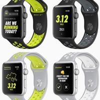 Wristband Series 2 Nike+ Sport Jam Band Belt Strap Volt Apple Watch