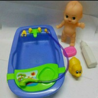 Bak Mandi Bayi Mainan Anak Perempuan BathTub Baby