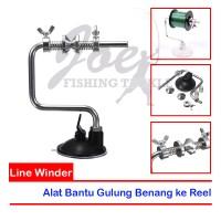 Line Winder Spool - Penjepit Spool Benang - Gulung Benang Pancing