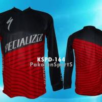 Jual Jersey/Baju Sepeda DH/Motocross Lengan Panjang Specialized, KSPD-164 Murah