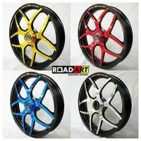 harga Velg Road Art Vario - Beat - Scoopy - Spacy Type Crown Tokopedia.com