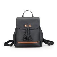 Tas Backpack Ransel Import Black Fashion korea Wanita Kuliah Sekolah