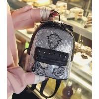 Tas Mini Fashion Ransel Import Manik Elegan Backpack Wanita