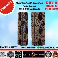 [Promo] Garskin Vapor ELEAF I STICK 60W -Free Custom- Batik Jogja