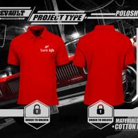 Poloshirt/Kaos Polo Bank BJB Logo Murah