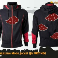Jaket Anime Naruto Akatsuki Assassin Mode Jacket Hoodie (JA NRT 46)