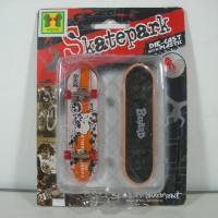 yoyo 182-2 skatepark fingger board tech deck kw isi2 oren-putih