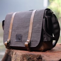 Tas Kamera Sling Bag For Prosumer / Mirrorless / DSLR - 005 Brown