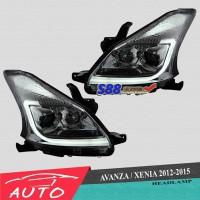 harga Headlamp Projector Avanza Xenia 2012-2015 Grade A Tokopedia.com