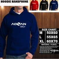 JAKET HOODIE Handphone Advan i4A/SWEATER/No Zipper/Gadget/Hp