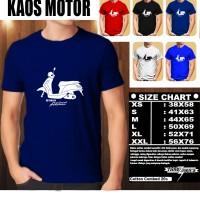 KAOS DISTRO OTOMOTIF MOTOR YAMAHA GRAND FILANO SILUET TS/Baju Kaos