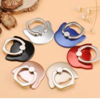 iRing/ Ring holder Kucing Hitam/Merah/Emas/Biru/Perak/Pink