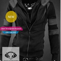 Jaket Sweater Assassin Stronghold
