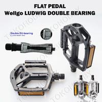harga Flat Pedal Sepeda Bearing Wellgo Ludwig Tokopedia.com