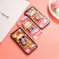 Jual IPHONE 5 SE /5S /5G CUTE MONKEY 3D SILICONE WITH IRING + FREE STARP Murah