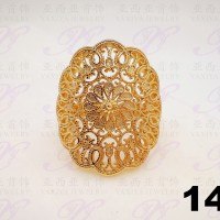Cincin emas Jenis Dubai Perhiasan imitasi Gold 18k Yaxiya Jewelry 143