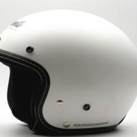 Helm Motor Cargloss Murah DEVIL CLASSIC SP WHITY WHITE