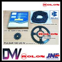 Gear Set Motor Pulsar 180 Ug4 Rolon (14/39 520h X 104l)